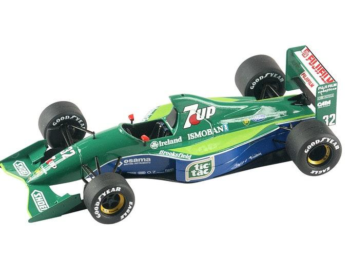 Jordan Ford 191 F.1 Belgian GP 1991 De Cesaris or Schumacher TAMEO Kits TMK322 1:43