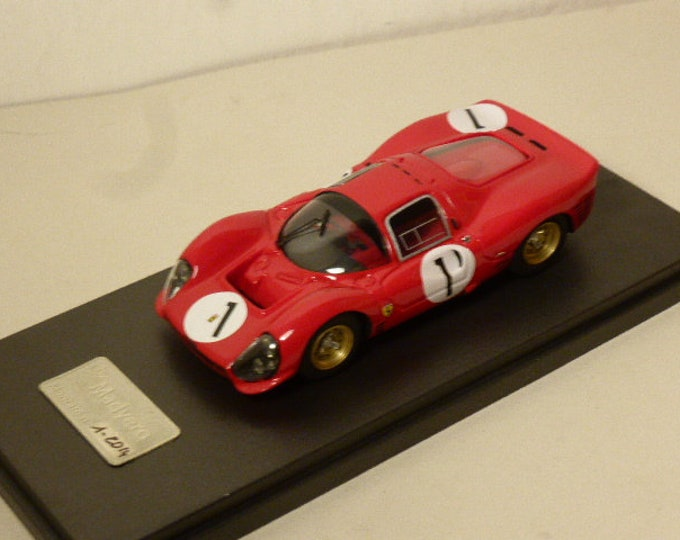 Ferrari 330 P3 1966 (3 versions option Spa, Monza and Le Mans) Madyero 1:43 KIT