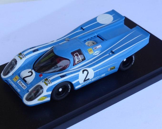 Porsche 917K Team Salzburg Targa Florio 1970 practice #2 Herrmann/Elford Fast by Ciemme43 1:43 factory built
