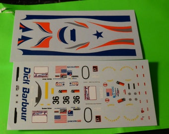 1:43 decals for Reynard Judd 01Q-LM LMP675 Dick Barbour Le Mans 2001 #36 De Radiguès/Maassen/Matsuda