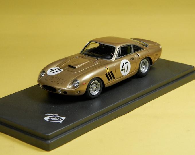 Ferrari 330 LMB 4453SA Double 500 Bridgehampton 1963 #47 Dan Gurney 1:43 Remember Models factory built