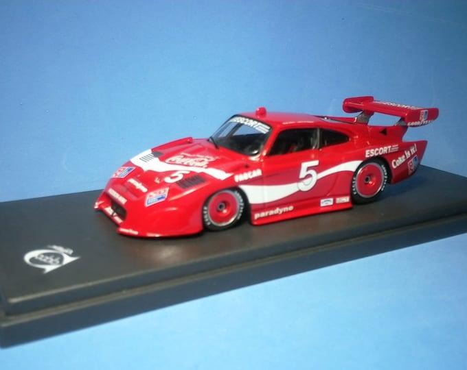 Porsche 935/84 Fabcar IMSA Bob Akin Racing 6h Riverside 1984 #5 Akin/O'Steen REMEMBER Models 1:43 factory built