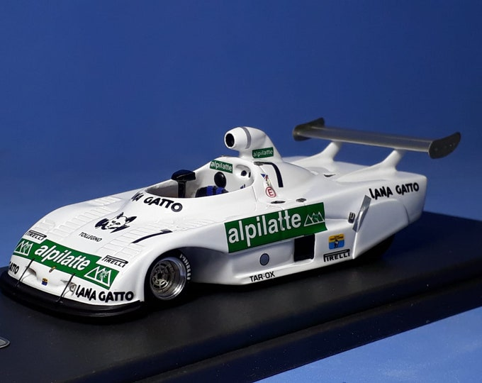 Osella BMW PA8 Gr.6 Alpilatte Mugello 6 hours 1980 (test car with aero spats) Madyero by Remember 1:43 factory special built