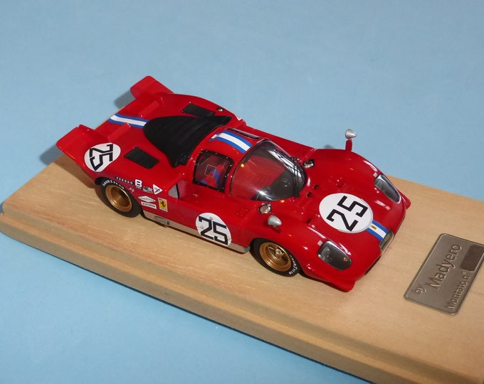 Ferrari 512S NART 24 hours Daytona 1970 #25 Gurney/Parsons Madyero by Remember 1:43 Factory built (special edition)