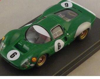Ferrari 330 P3/P4 (412 P) David Piper Racing 1000KM Monthlery 1968 Remember kit 1:43