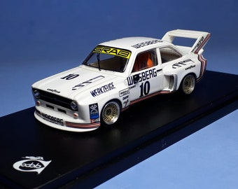 Ford Escort RS Gr5 Grab Weisberg Zolder Bergischer Loewe DRM 1977 #10 Toine Hezemans REMEMBER Models 1:43 - Factory built