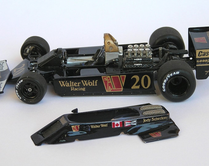 Wolf Ford WR5/6 F.1 Canadian or German G.P. 1978 Jody Scheckter Tameo kit TWU002 1:43