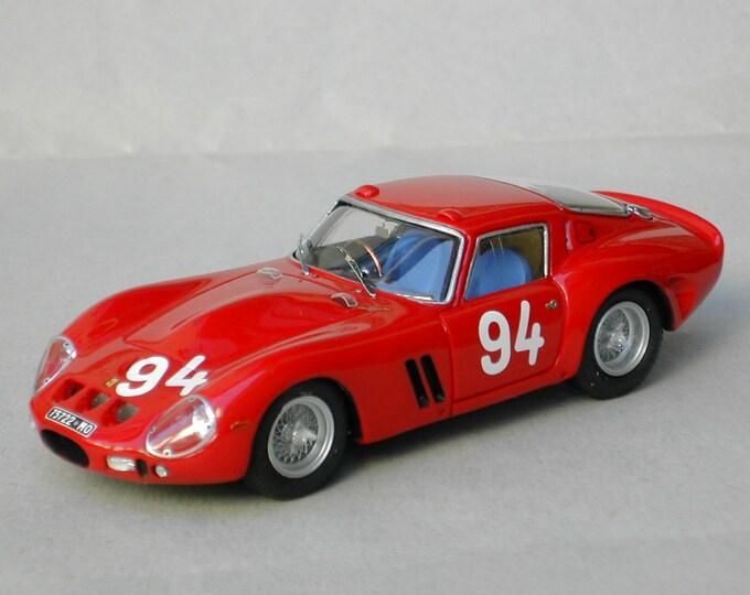 Ferrari 250 GTO 3505GT Zeltweg 1964 #94 Gunther Placheta Remember Models kit 1:43