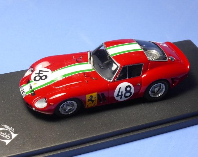 Ferrari 250 GTO 3909GT 1000km Nurburgring 1963 #48 Von Csazy / Foitek 1:43 Remember Models factory built