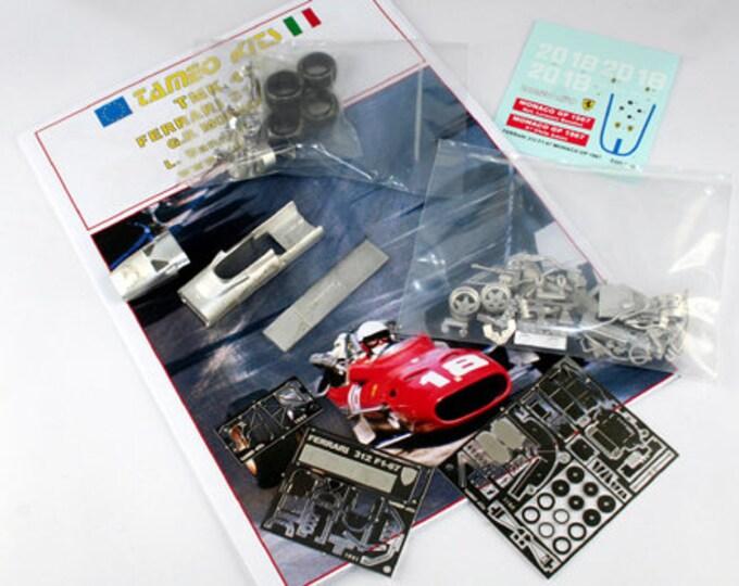 Ferrari 312 Formula 1 Monaco GP 1967 Bandini or Amon TAMEO Kits TMK419 1:43