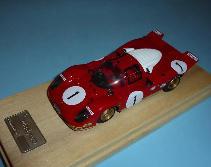 Ferrari 512S 1000km Monza 1970 #1 Amon/Merzario Madyero by Remember 1:43 Factory built (special edition)