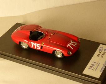 Ferrari 750 Monza ch.0516M Mille Miglia '55 #715 Camillo Luglio CARRARA Models 1:43 factory built D43-073