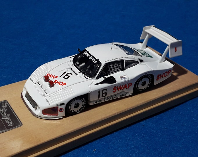 Porsche 935 IMSA Moby Dick Andial-Swap Shop 24h Daytona '85 Wollek/Henn/Grohs/Brun Madyero by REMEMBER Models 1:43 - Factory built