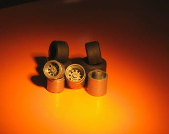 high definition wheel set for Alfa Romeo 33-3, 33TT8, 33TT12 etc. Remember W07 1:43