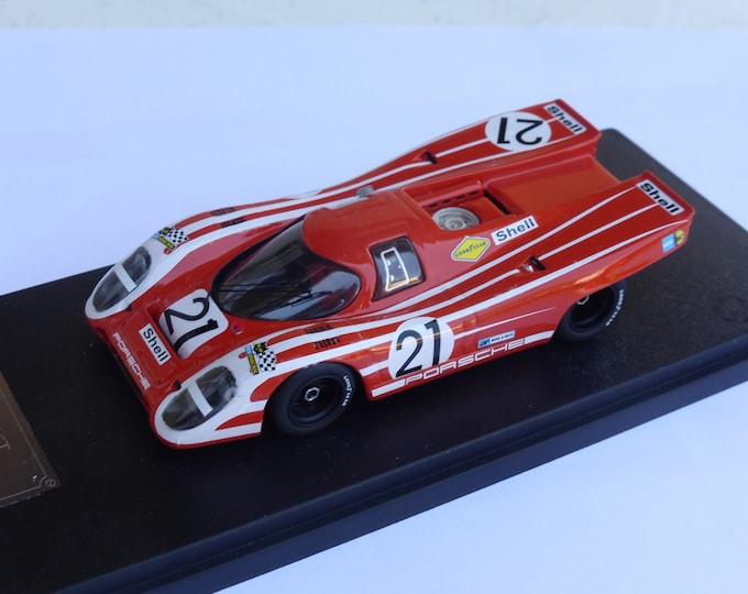 Porsche 917K Team Salzburg 1000km Zeltweg 1970 #21 Elford/Attwood Fast by Ciemme43 1:43 factory built