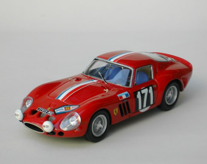 Ferrari 250 GTO 3769GT Tour Auto 1964 #171 Garant/Lanners Remember Models kit 1:43