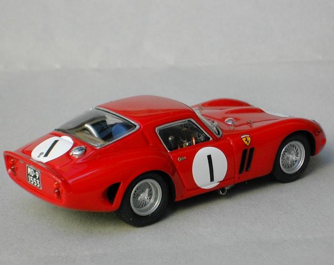 Ferrari 250 GTO 4399GT Goodwood Whitsun Trophy 1963 #1 Mike Parkes Remember Models kit 1:43