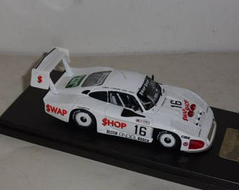 Porsche 935 IMSA Moby Dick Andial-Swap Shop 24h Daytona '85 Wollek/Henn/Grohs/Brun Madyero by REMEMBER Models 1:43 - Factory built