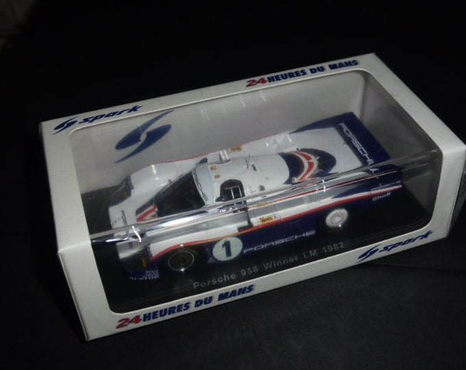 Porsche 956 Group C Le Mans 1982 winner Ickx/Bell Spark 43LM82 still sealed 1:43 SHIPPING OFFERED
