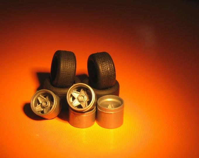 high definition wheel set for Ferrari 512BB, 365 GT4/BB etc. Remember W05 1:43