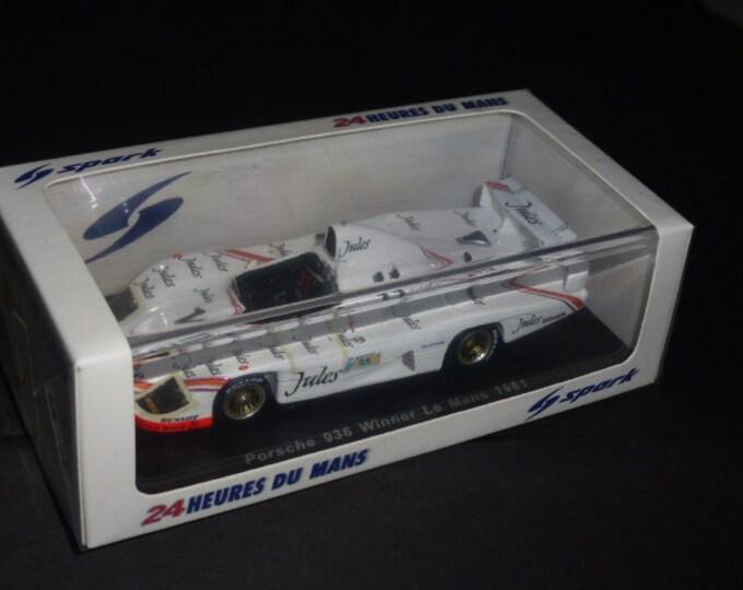 Porsche 936/81 Gr6 Jules Le Mans 1981 winner Ickx/Bell Spark 43LM81 still sealed 1:43 SHIPPING OFFERED
