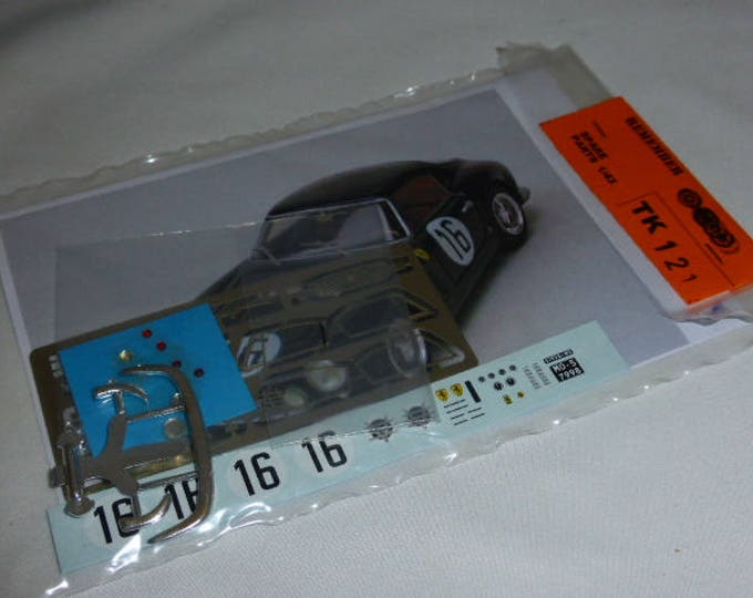 multimedia 1:43 transkit (photoetches, lights, decals etc) for Ferrari 250 GT SWB Le Mans 1960 #16 Madyero TK121