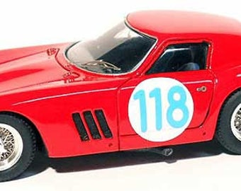 Ferrari 250 GTO 64 4975GT Targa Florio 1964 #118 Guichet/Facetti Remember Models KIT 1:43