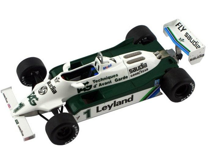 Williams Cosworth FW07C Formula 1 GP Las Vegas 1981 Alan Jones TAMEO Kits SLK064 1:43