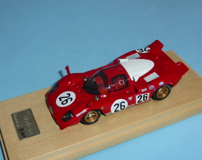 Ferrari 512S Daytona 24 hours 1970 #26 Vaccarella/Giunti Madyero by Remember 1:43 Factory built (special edition)