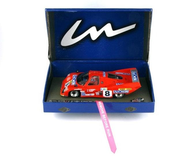 Rondeau Cosworth M379B GTP Le Mans 1981 Streiff/Schlesser/Haran GTS Série Le Mans Miniatures slot car 1:32 132051/8M