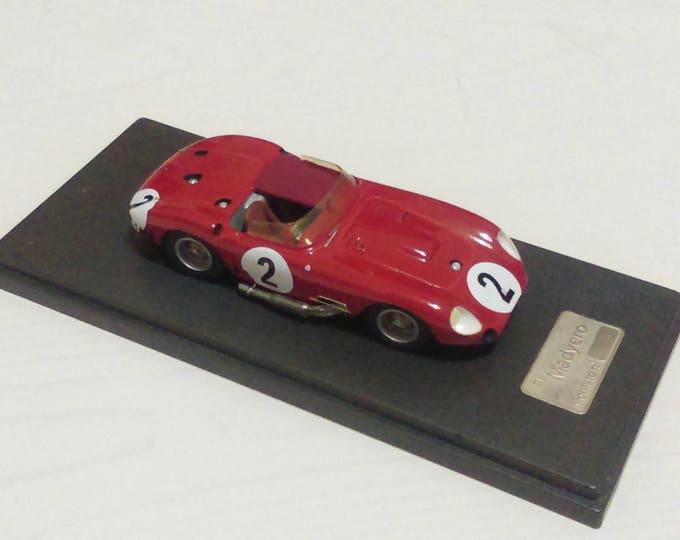 Maserati 450S Le Mans 1957 #2 Behra/Simon 1:43 Automany built by Madyero studio