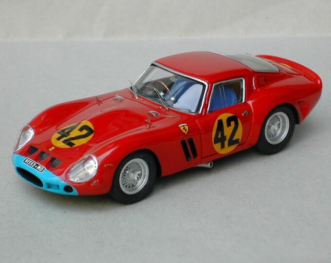 Ferrari 250 GTO 4399GT Maranello Conc. Monza Coppa Intereuropa 1963 #42 Roy Salvadori Remember Models kit 1:43