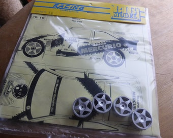 1:24 transkit for Ford Escort RS Cosworth Mercurio Rally Sanremo 1993 Cunico (decals+white metal wheels) RACING43 Big-TK16