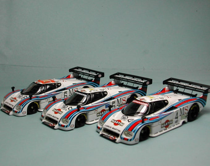 Lancia LC2 Group C Martini Racing Le Mans 1983 three versions option kit Madyero 1:43