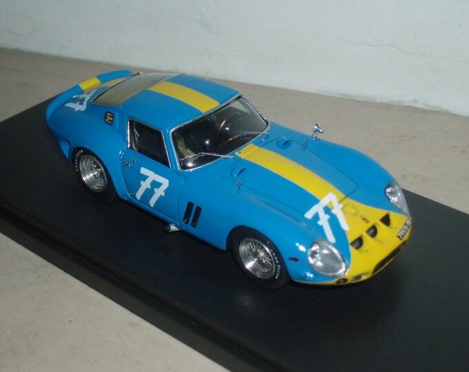 Ferrari 250 GTO 3445GT 1000km Nurburgring 1964 #77 Norinder/Amon Remember Models kit 1:43