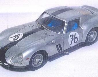 Ferrari 250 GTO 4115GT 1000km Nurburgring 1964 #76 Ramminger/Schander Remember Models KIT 1:43