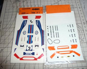 high quality 1:43 decals Porsche 917 K Martini 1000KM Monza 1971 #3 Remember TK31