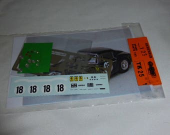 multimedia 1:43 transkit (photoetches, lights, decals etc) for Ferrari 250 GT SWB Le Mans 1961 #18 Madyero TK125