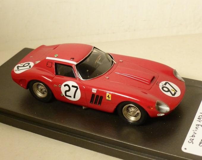 Ferrari 250 GTO 64 5573GT NART Le Mans 1964 #27 Grossman / Tavano 1:43 built by Sebring1971 studio 23-2018