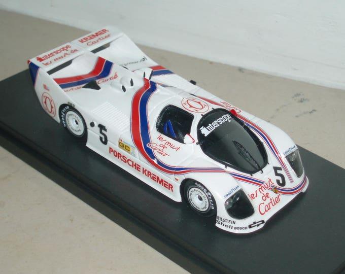 Porsche CK5 Group C Les Must de Cartier Le Mans 1982 #5 REMEMBER kit 1:43