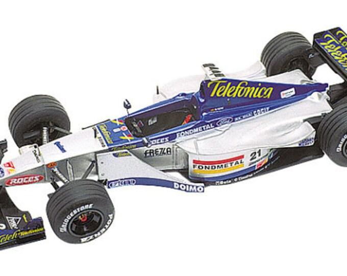 Minardi Ford M01 Formula 1 European GP 1999 Gené or Badoer TAMEO Kits TMK283 1:43