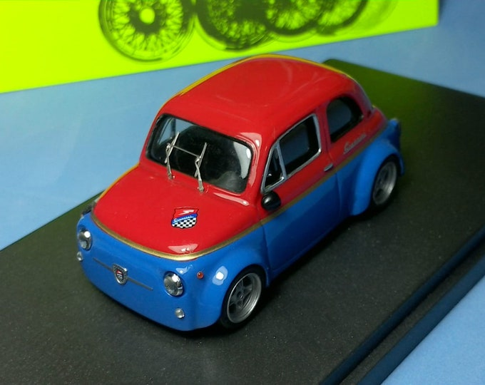 Fiat Giannini 650NP Group 2 Corsa 1972 blue/red Remember 1:43 - Factory built