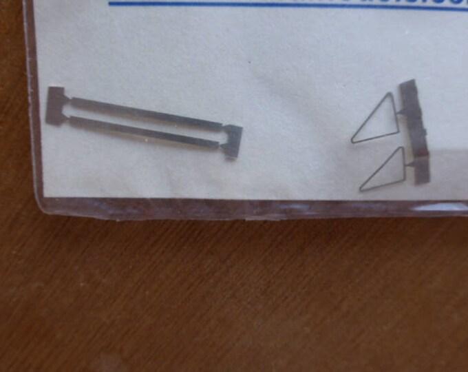 Pack of 2 photoetched deflectors for 1:43 scale models Carrara Models SP67