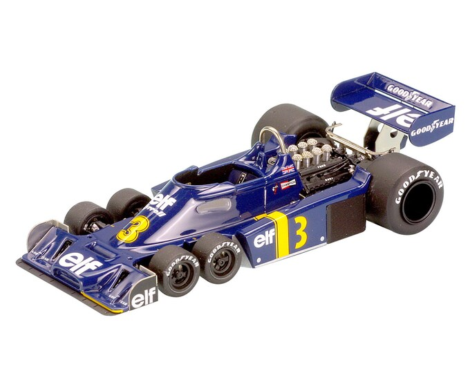 Tyrrell Ford Cosworth P34 Formula 1 Dutch GP 1976 Jody Scheckter TAMEO Kits TMK299 1:43