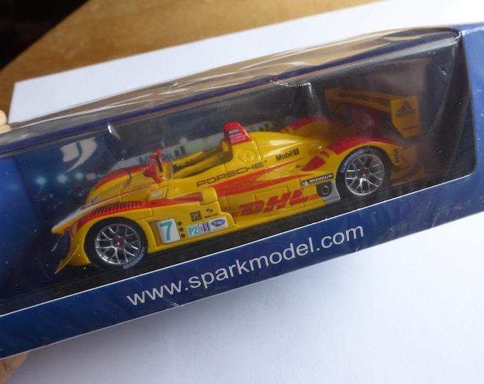 Porsche RS Spyder LMP2 Penske 12h Sebring 2008 winner Dumas/Bernhard/Collard Spark 43SE08 still sealed 1:43 SHIPPING OFFERED