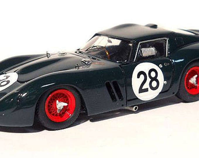 Ferrari 250 GTO 4491GT Tourist Trophy 1965 #28 Peter Sutcliffe Remember Models KIT 1:43