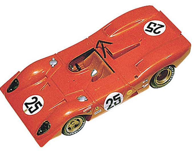 Ferrari 312 P Spyder 12h Sebring 1969 #25 Andretti/Amon Tameo Kits TMK086 1:43