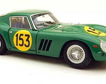 Ferrari 250 GTO 3767GT Tour Auto 1962 #153 Piper/Margulies Remember Models kit 1:43