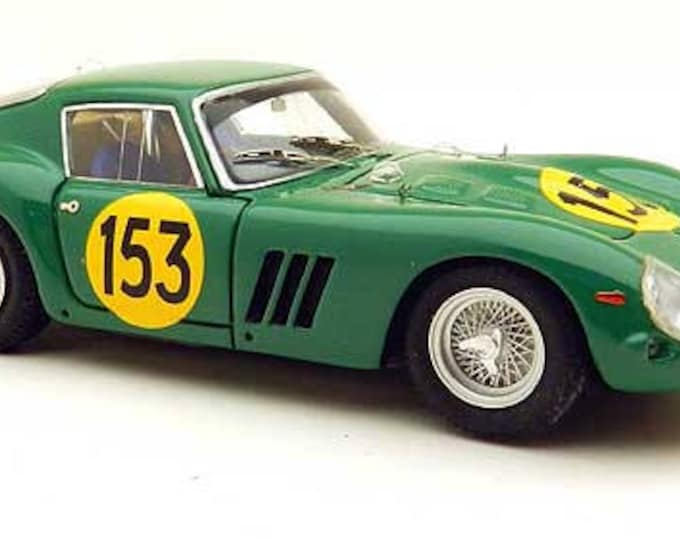 Ferrari 250 GTO 3767GT Tour Auto 1962 #153 Piper/Margulies Remember Models kit 1:43