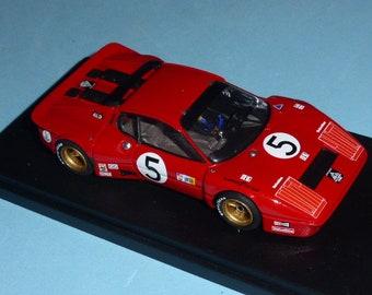 Ferrari 365 GT/BB ch.18139 Imsa Road Atlanta 1978 #5 Migault REMEMBER Models 1:43 Factory built